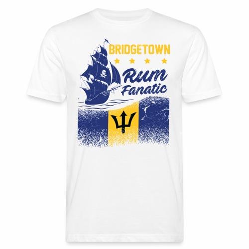 T-shirt Rum Fanatic - Bridgetown - Barbados - Ekologiczna koszulka męska