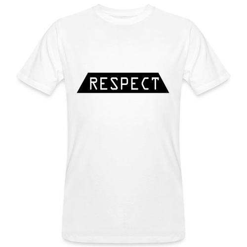 Respect - Økologisk T-skjorte for menn