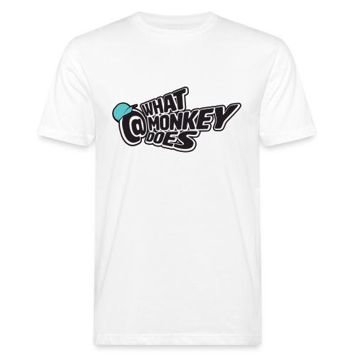 What Monkey Does Instagram Logo - Men's Organic T-Shirt