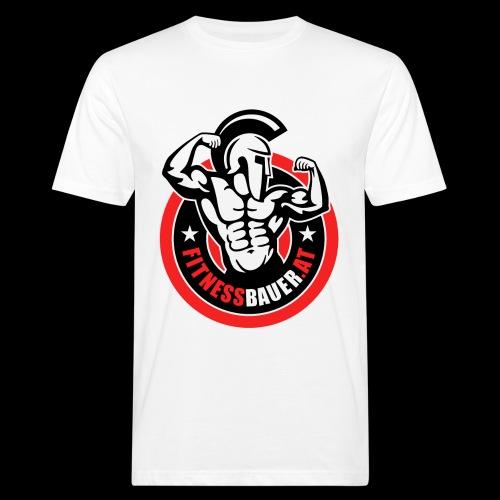 FitnessBauer von Max - Männer Bio-T-Shirt