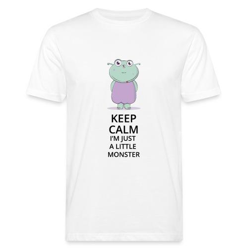 Keep Calm - Little Monster - Petit Monstre - T-shirt bio Homme