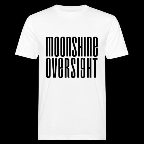 Moonshine Oversight noir - T-shirt bio Homme
