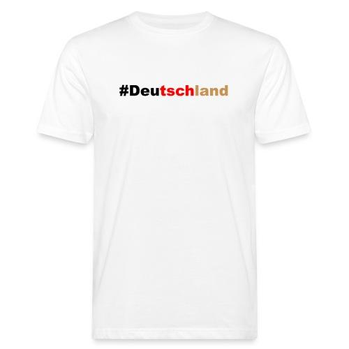 #Deutschland - Männer Bio-T-Shirt