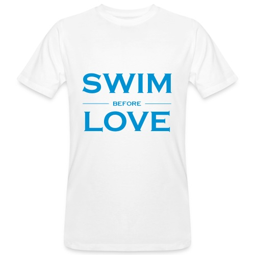 SWIM BEFORE LOVE - T-shirt ecologica da uomo