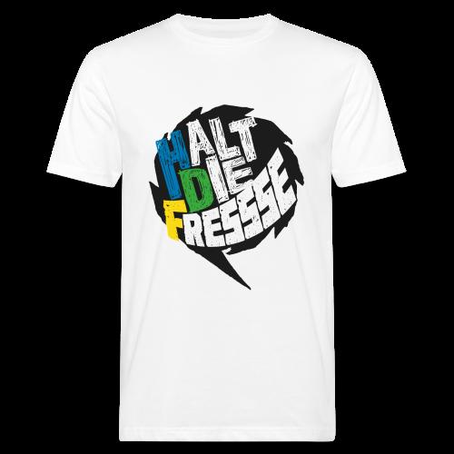 AGGRO.TV - Halt die Fresse T-Shirt - Männer Bio-T-Shirt