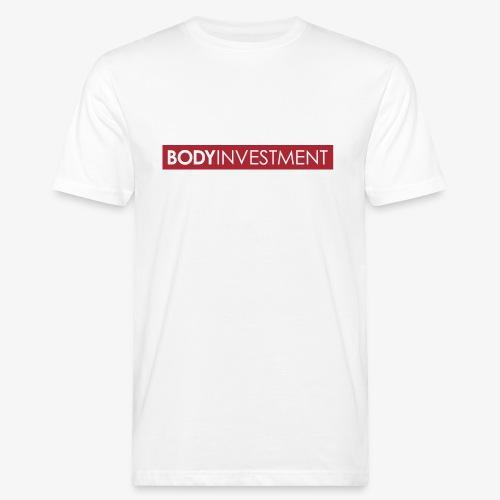 Bodyinvestment - Männer Bio-T-Shirt