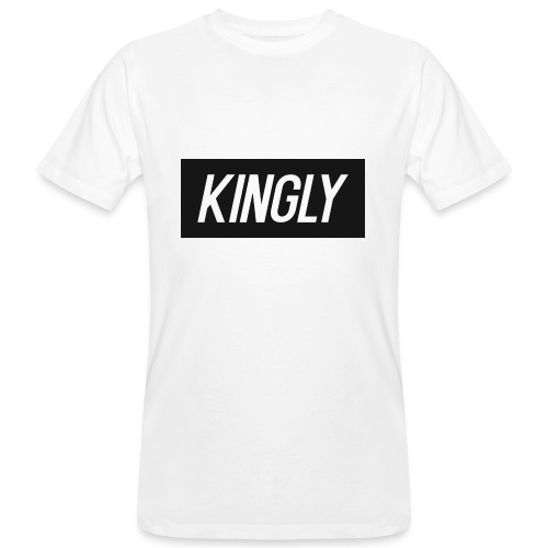 Kingly Basic Motive - Men's Organic T-Shirt