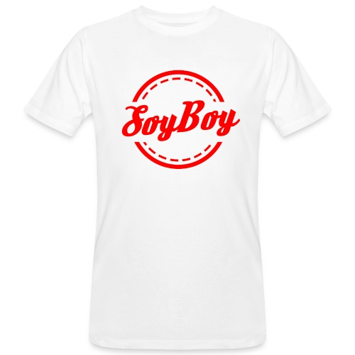 For Us Soy Boys Red - Men's Organic T-shirt