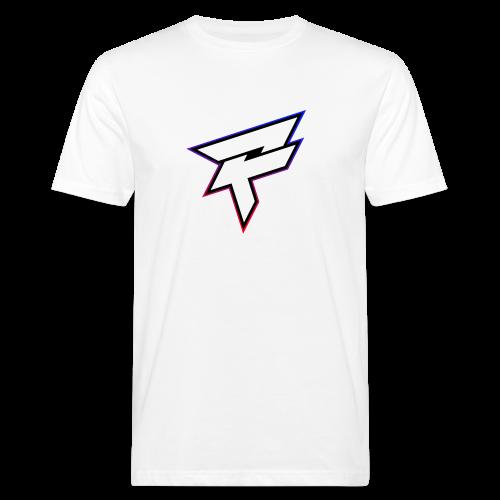 Pozyh Logo - Männer Bio-T-Shirt