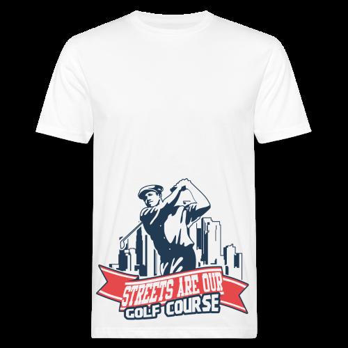 Vintage Golfer Man - T-shirt bio Homme