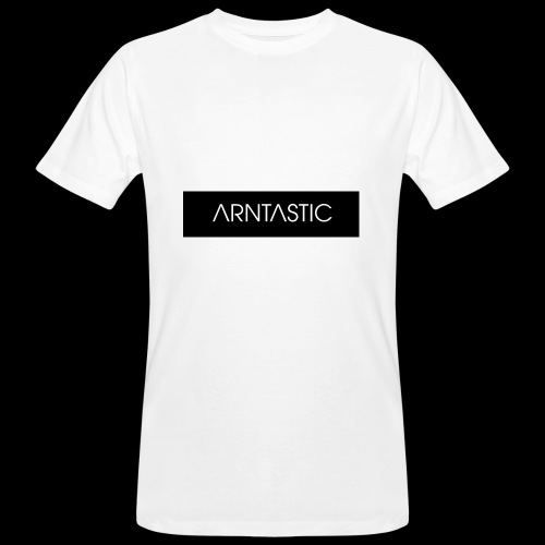 ARNTASTIC balken schwarz - Männer Bio-T-Shirt