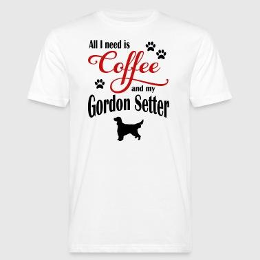 Gorden Setter Café - T-shirt bio Homme