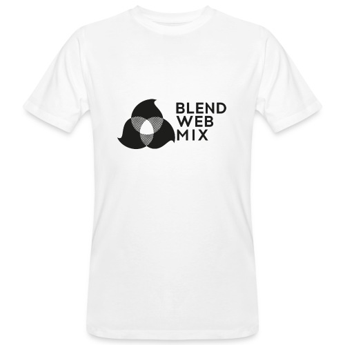 logo noir - T-shirt bio Homme