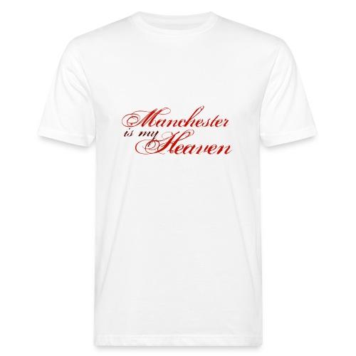 Manchester is my heaven - Men's Organic T-Shirt