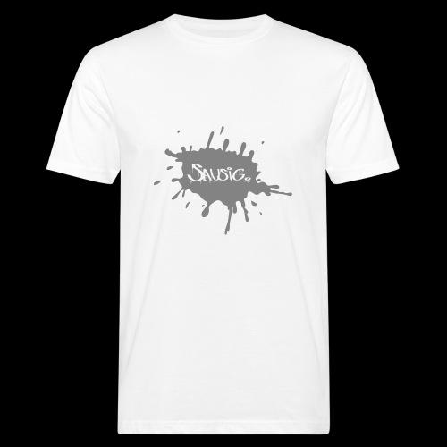 sausig - Mannen Bio-T-shirt