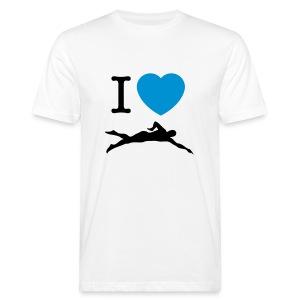 I LOVE SWIMMING - T-shirt ecologica da uomo