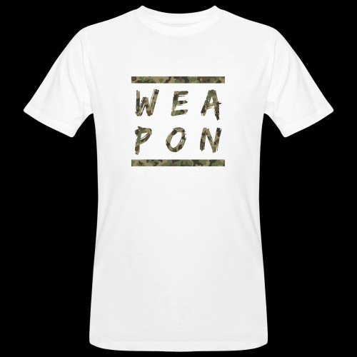 Weapon Camo - Men's Organic T-Shirt