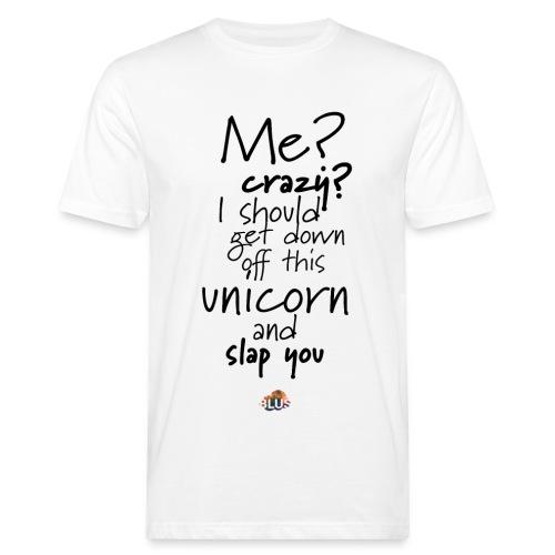 Crazy Unicorn Style (Dark) - Men's Organic T-Shirt