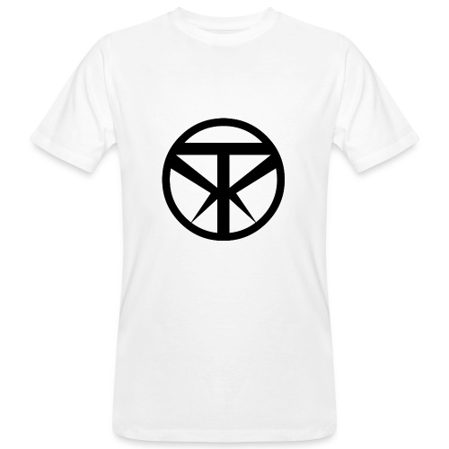 Tridex Logo Black - Men's Organic T-Shirt