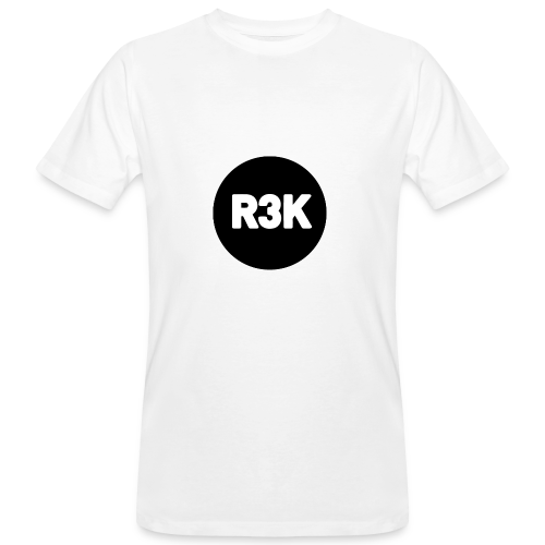 R3K Logo - Men's Organic T-shirt