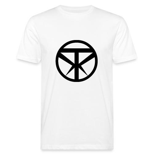 Tridex Logo Black - Men's Organic T-shirt