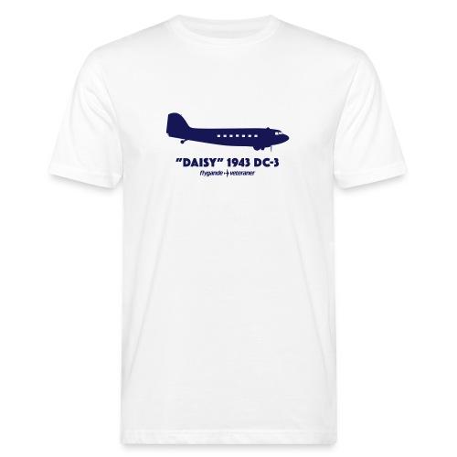 Daisy Silhouette Side 2 - Ekologisk T-shirt herr