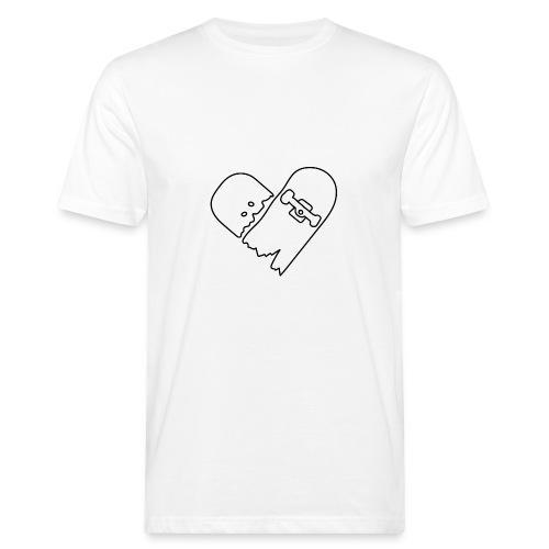 Broken Skateboard - Men's Organic T-Shirt