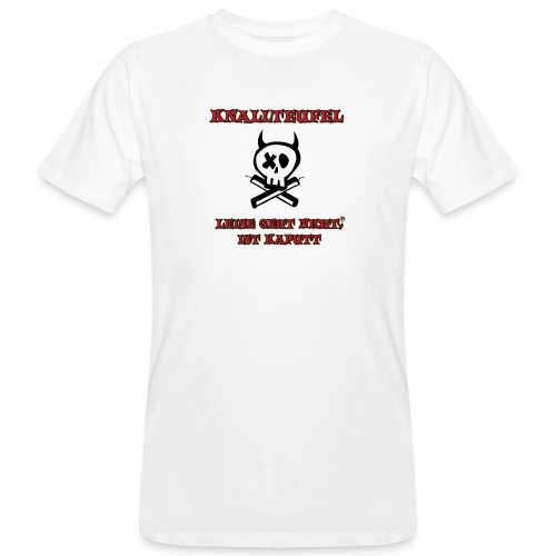 Knallteufel - Männer Bio-T-Shirt