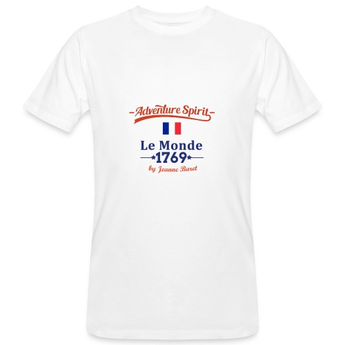 Adventure Spirit France - Männer Bio-T-Shirt