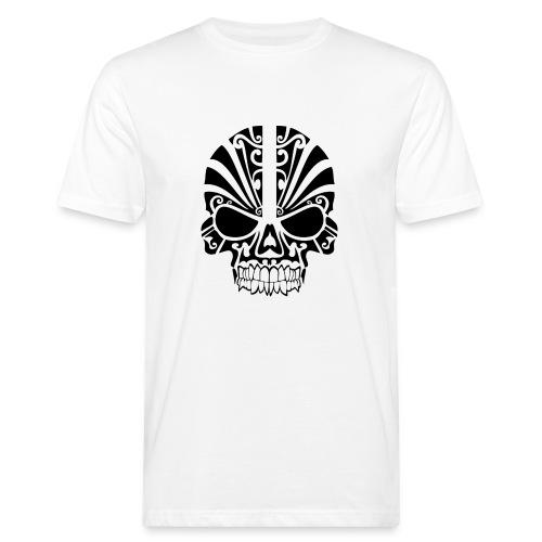 tribal skull - Männer Bio-T-Shirt