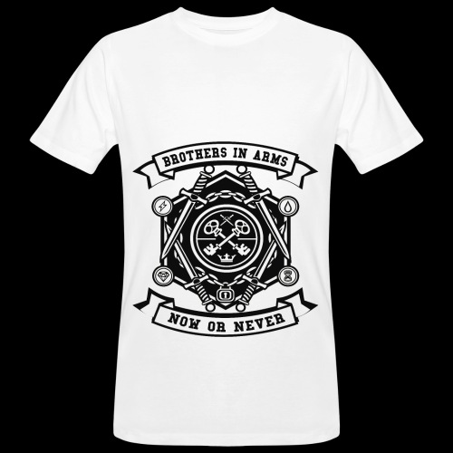 Brothers In Arms - Now or Never - Männer Bio-T-Shirt