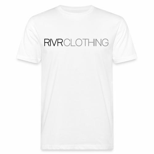 RIVR - BLACK N' GRAY - Ekologisk T-shirt herr