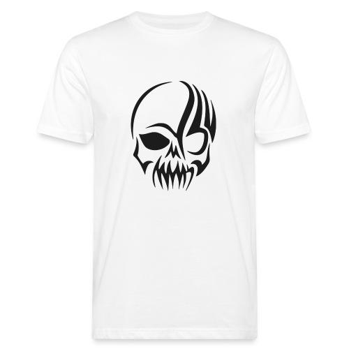 tribals skull - Männer Bio-T-Shirt