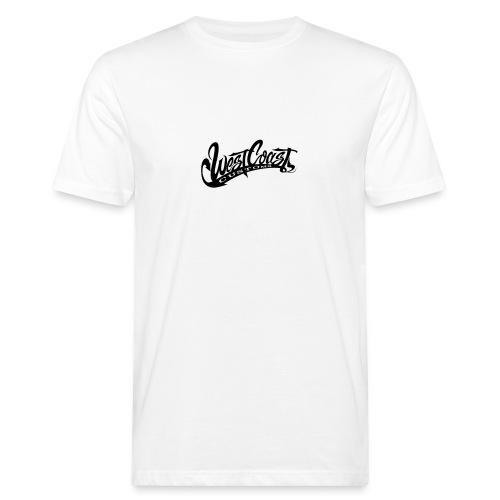 wcc logo black and white - T-shirt ecologica da uomo