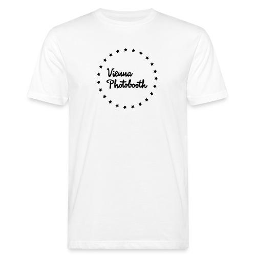 Vienna Photobooth Logo - Männer Bio-T-Shirt