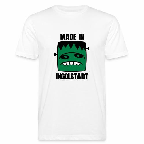 Fonster made in Ingolstadt - Männer Bio-T-Shirt