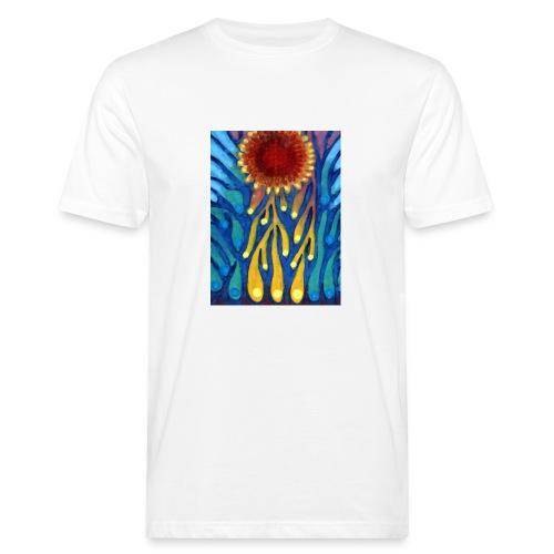 Chore Słońce - Ekologiczna koszulka męska