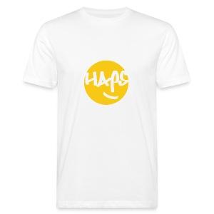 HAPS Yellow Logo - Men's Organic T-shirt