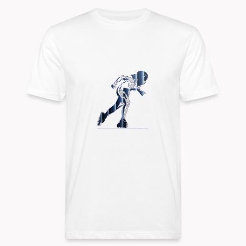 Skeelerrun sport inline skate patins à roulettes - T-shirt bio Homme