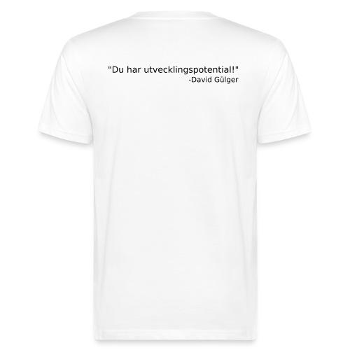 Ju jutsu kai förslag 1 version 1 svart text - Ekologisk T-shirt herr
