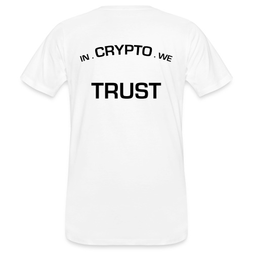 In Crypto we trust - Mannen Bio-T-shirt