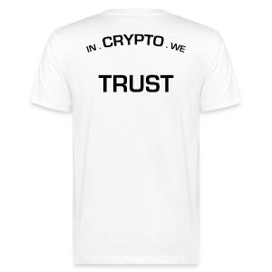 In Crypto we trust - Mannen Bio-T-shirt