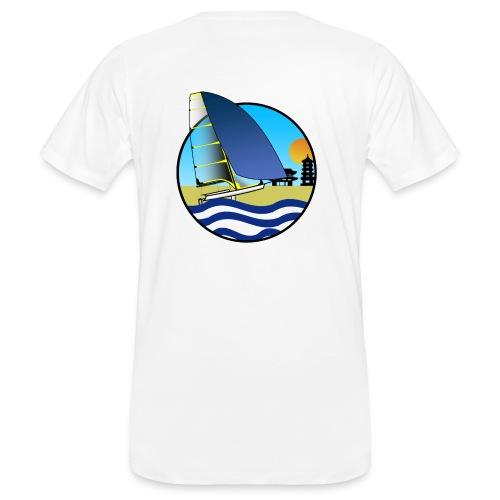 49er sailing Tokio BIG - Männer Bio-T-Shirt