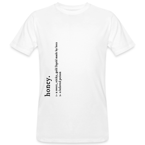 Honey - definition - T-shirt bio Homme