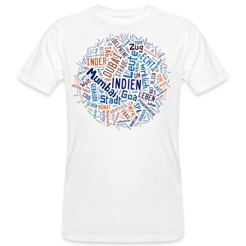 Tagcloud DF Ep6 cutout png - Männer Bio-T-Shirt