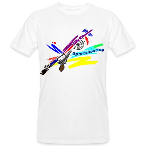 sportshooting neufrei - Männer Bio-T-Shirt