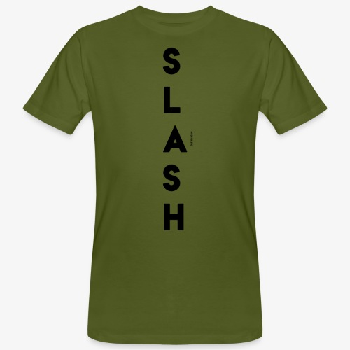 COLLEZIONE / S L A S H / DSN Invernale, verticale - T-shirt ecologica da uomo