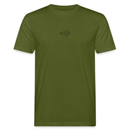bushcraft logo - T-shirt ecologica da uomo