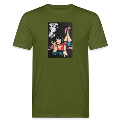 MIA WALLACE DRAWING - T-shirt ecologica da uomo