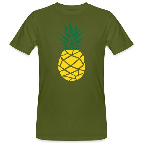 Pineapple - Mannen Bio-T-shirt